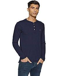 Amazon Brand - House & Shields Men's Solid T-Shirt