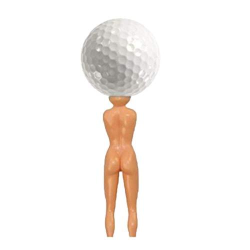 dryujdytru Bunte Neuheit Nackt Lady Golf T-Shirts Modell Schöne Ball Nagel HG-0529 für Camping, Piknik und Weitere Outdoor-Aktivitäten - 1