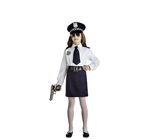 Imagen de disfraz policia niña talla 7 9