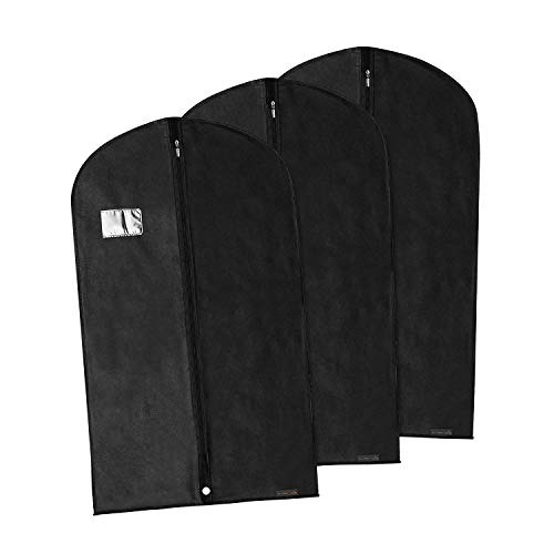 "HANGERWORLD 40"" Breathable Suit Garment Dress Clothes Cover Protector Bag"