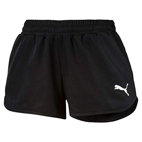 Puma active woven, pantaloni donna, nero black, m