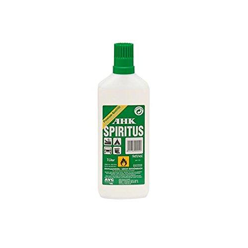 Brennspiritus Spiritus geruchsfrei Premium AHK Bioalkohol Made in Germany (5 Stück)