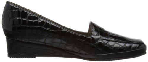 Van Dal Verona III, Mocassini donna nero (Black Croc)