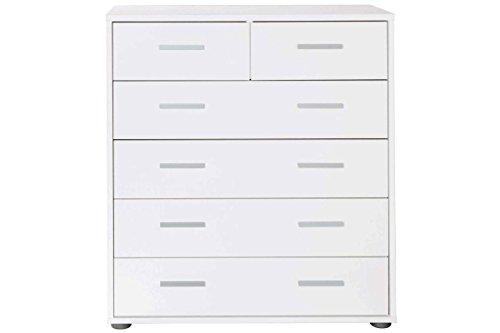 Livarno® Living Kommode - Flur, Dielen, Wohnzimmer Schrank - 79 x 86 x 33 ( B x H x T in cm) - Made in Germany