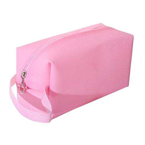 Sac de rangement pour maquillage portable Sac à cosmétiques étanche Sac de beauté C