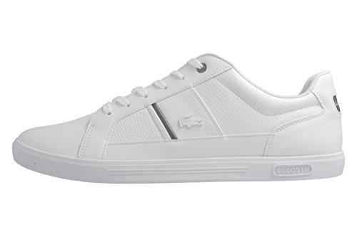 Lacoste Europa, Sneaker Uomo Bianco