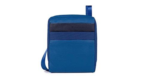 Piquadro Orinoco Borsa Messenger, 26 cm, Blu