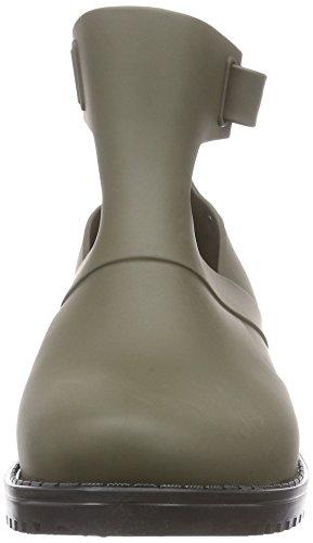 Melissa Mel Open Boot Ad, Bottes Classiques femme Gris (green/black 52046)