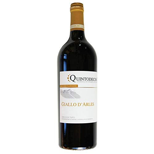 Vino Greco di Tufo GIALLO D'ARLES DOCG bianco - Quintodecimo