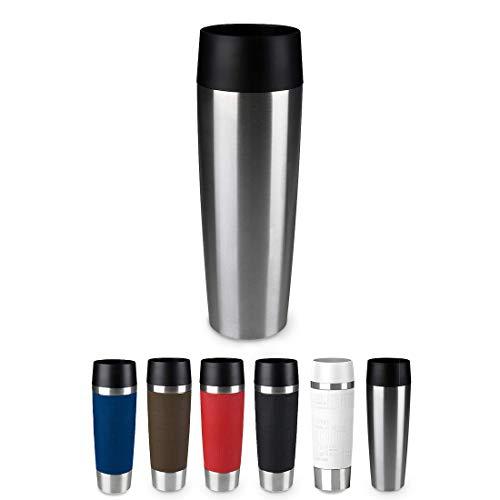 Emsa 515614 Travel Mug Standard-Design Grande, Thermobeche, 500 ml, edelstahl