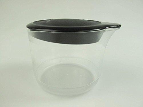 TUPPERWARE Exclusiv TupperTime 250 ml schwarz Milchkännchen Kännchen Milch Sahne -
