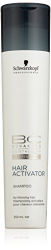 Schwarzkopf Professional - Shampooing pour cheveux clairsemes BC Bonacure Hair Growth 250ml