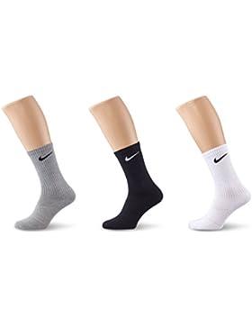 Nike Unisex Trainingssocken 3 Paar Lightweight Crew