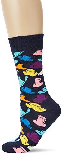 Happy Socks Damen Hats Socken, Schwarz (Black), 4/7/2018 (Herstellergröße: 36-40) (Cinco De Mayo Hat)