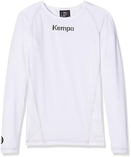 Kempa Kinder Bekleidung Teamsport Attitude Longsleeve, weiß, 140, 200206801