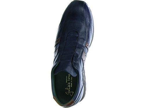 Galizio Torresi  317754 V16550, Mocassins pour homme Bleu