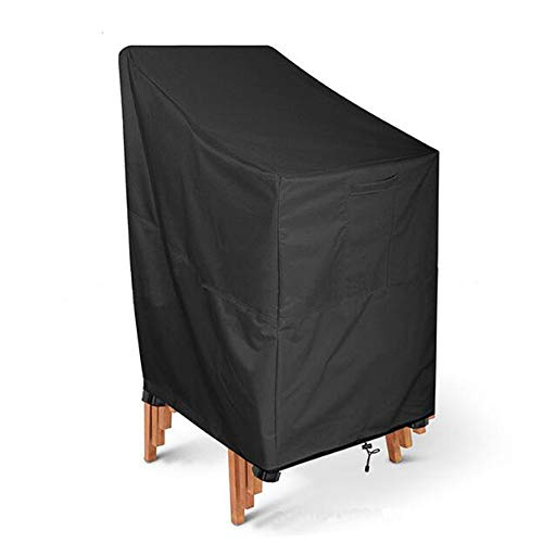 Preisvergleich Produktbild YAC 210D Oxford Tuch Möbel Abdeckung,  Draussen Garten Schutzhülle Wasserdicht Anti-UV Staubschutzhaube Open Air Möbelbezug Stuhlbezug, 120 * 66 * 73 * 84cm