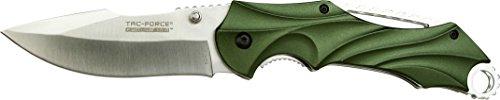 Tac-Force Evolution Green Scorpion - Klappmesser - Grün , Klinge sehr scharf, Klingenlänge: 10,2 cm -