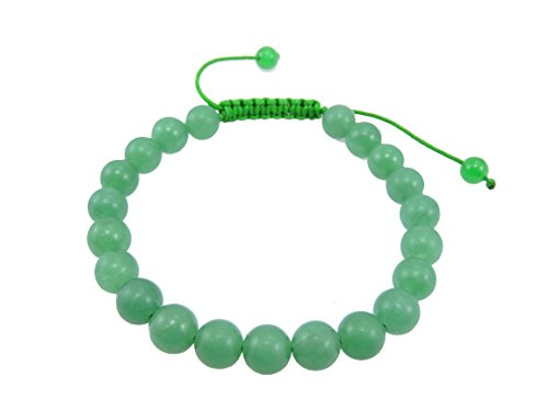 Mala tibetano verde Jade muñeca Mala/pulsera para meditación