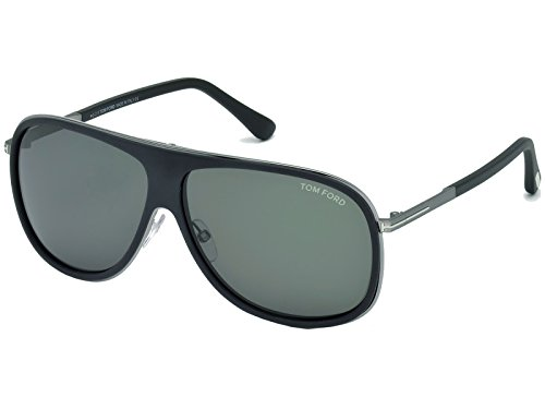 Preisvergleich Produktbild Tom Ford FT0462-F / S Chris 02N Herren Sunglasses Schwarz