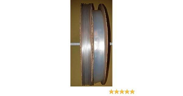 Schrumpfschlauch 2:1 transparent//klar /Ø 1,2 bis 25,4 mm verschiedene L/ängen ab 25 cm bis 20 Meter /Ø 25,4 mm, 2 Meter