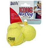 Kong Air Dog Squeaker Tennis Balls Small 3pack