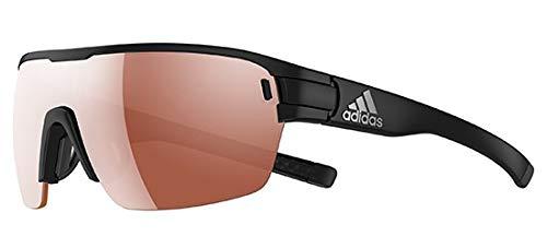 Preisvergleich Produktbild Adidas Brille ad06 ZONYK AERO black matt 9100 LST Active silver (Small)