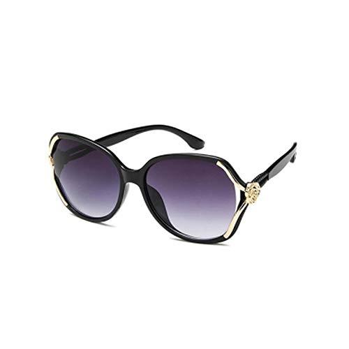 PL-IMK Einzigartige Geschnitzte Floral Aushöhlen Sonnenbrille (2)
