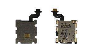 Sim Karten Tray Halter Card Reader Leser Slot Holder Flex Cable für HTC One M8