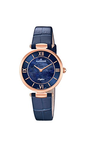 Candino Reloj Análogo clásico para Mujer de Cuarzo con Correa en Cuero C4671/2