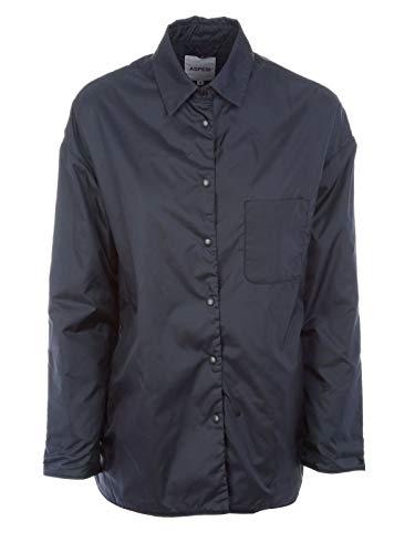 ASPESI Giacca Outerwear Donna N752796196101 Poliammide Blu