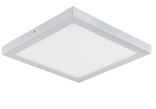 LED Panel Wandleuchte Aufputz Oberputz Wandlampe Deckenleuchte Deckenlampe Lampe -Eckig Quadrat 30 cm x 30 cm Neutralweiss 230V 28W