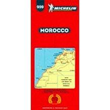 Carte routière : Maroc, 959, 1/1000000