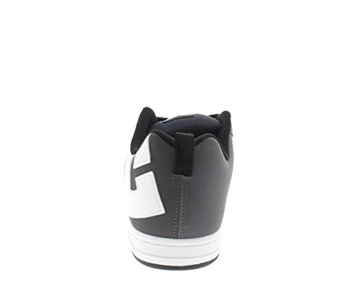 DC Shoes Court Graffik M Shoe, Baskets Basses homme Grau (GRW)
