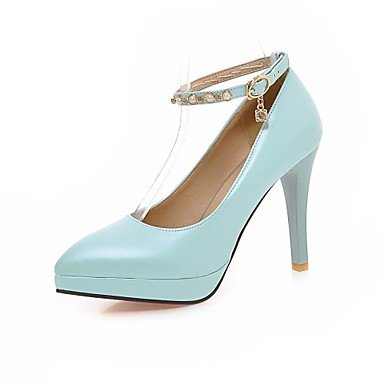 Zormey Women'S Shoes Stiletto Heel/Plattform/Schuhe Heels Party & Amp Abend-/Kleid Schwarz/Blau/Pink/Wei? US8 / EU39 / UK6 / CN39