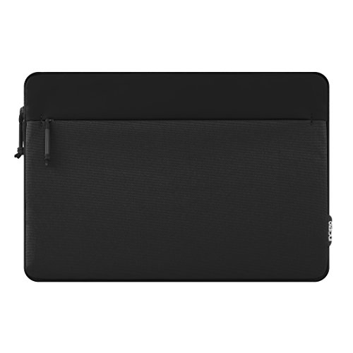 Incipio Truman Sleeve Microsoft Surface Pro 4 / Pro (2017) / Pro 6 - Microsoft zertifizierte Schutzhülle [Type Cover Kompatibel I Außentasche I Stylus Halter I Nylon] - Schwarz (MRSF-095-BLK) (Surface Pro 3-stift-halter)