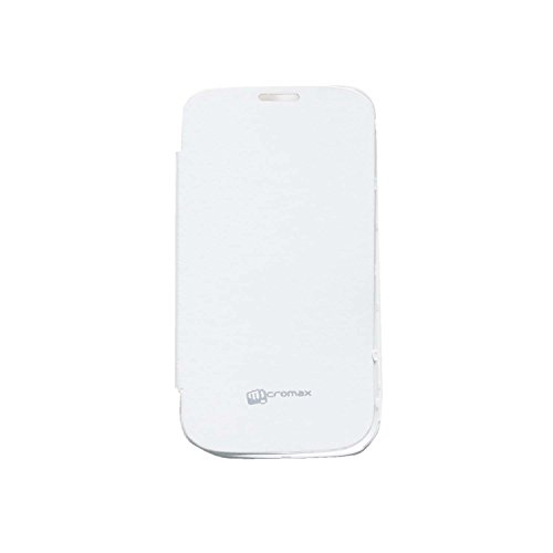 iCandy™ Flip Cover for Micromax Bolt A71 - White  available at amazon for Rs.109