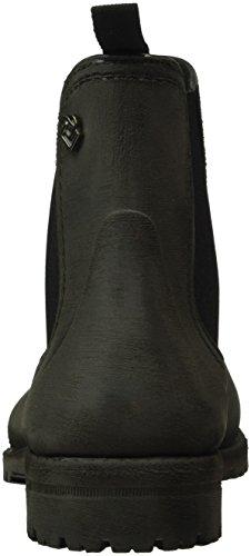 Liebeskind Berlin Ls0133 Rubber, Bottes mi-hauteur non doublées femme Noir - Schwarz (ninja black 9998)