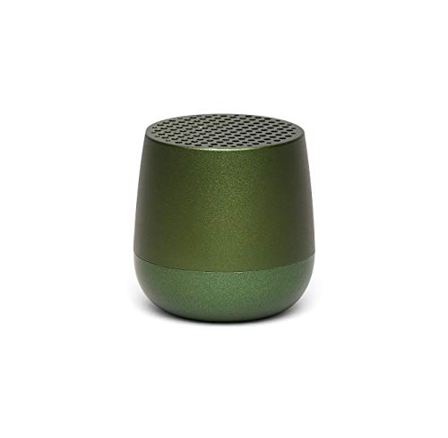 Lexon MINO Mini-Bluetooth-Lautsprecher TWS mit Freisprechanlage versch. Farben Dunkelgrün