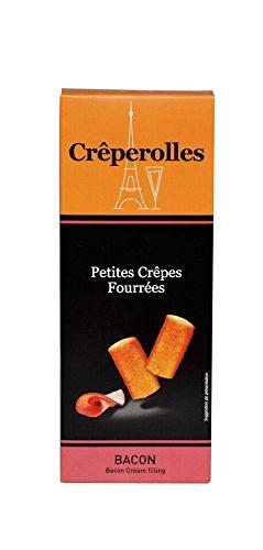 Preisvergleich Produktbild Crêperolles,  Petite Crêpes Fourrées,  Crêpesröllchen mit Bacon-Füllung 100g