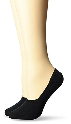 Burlington Damen Socken Everyday 2er pack, Schwarz (Black 3000), 37/38
