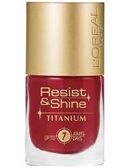 L'Oréal Paris Resist & Shine Titanium Nagellack, 500
