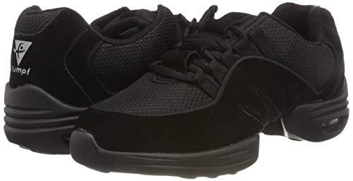 RUMPF Scooter Sneaker geteilte Sohle schwarz - 5