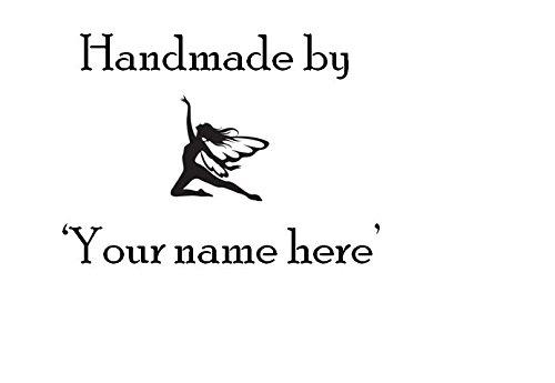 Hecho mano personalizado tu nombre-Hada tampones