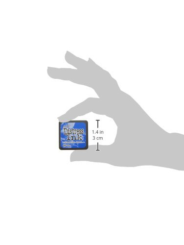 Ranger TDP47346 Distress Mini Ink Pad, Blueprint Sketch