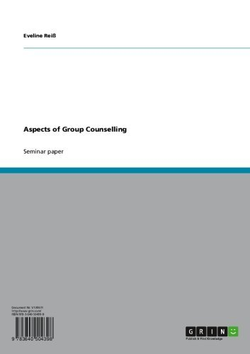 Aspects of Group Counselling (English Edition)
