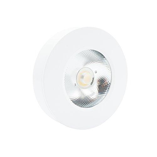 Downlight redondo de superficie LED blanco cálido 180 ángulo de haz 3...