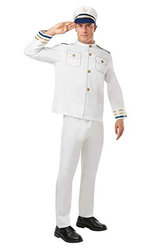 Uniform Officer Kostüm Navy - Rubie 's Offizielles Navy Officer, Erwachsenen-Kostüm-Gr. M/Standard