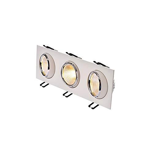 GLBS Parrilla 14W/21W Especificaciones LED Integradas Múltiples Downlight Lente Conmutación Panel Luz...