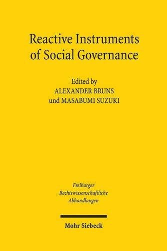 of Social Governance (Freiburger Rechstwissenschaftliche Abhandlungen, Band 25) ()
